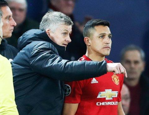 Sánchez havnet helt i kulden hos United-manager Ole Gunnar Solskjær.