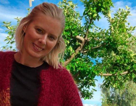 INNBRUDD: Kristine Lundhagen (32) og samboeren ble frastjålet både lommebok og bilnøkler natt til mandag.