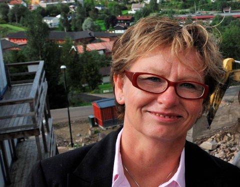 MØTER KONKURRANSE: Marit Wiik og de andre lokale eiendomsmeglerne møter tøff konkurranse fra Oslo og Lillestrøm.
