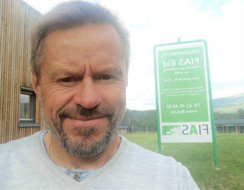 FUNGERENDE LEDER: Ole Solvang er fungerende daglig leder i FIAS til en ny sjef er på plass om noen måneder.