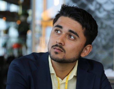 UNG POLITIKER: Jonas Andersen Sayed er 21 år, og har rukket å gjøre seg bemerket i det politiske landskapet.