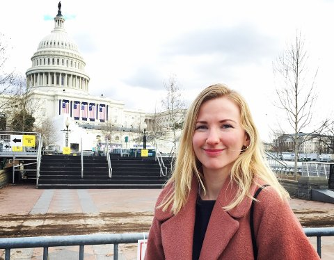 BRENNER FOR OSLO: Klaudia Lech er oppvokst i byen. Nå blir hun en av Avisa Oslos redaktører.