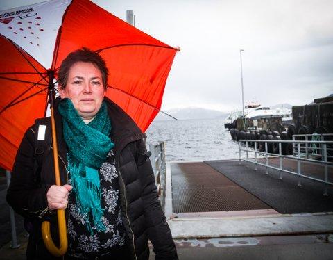 Inger Helen Midtgård meiner at å gje innvandrarar opplæring i nynorsk er eit godt integreringsarbeid i Nordhordland.