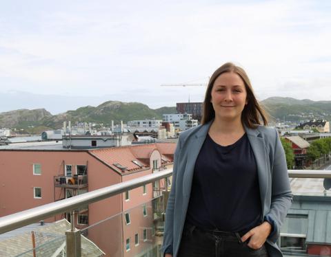Da Merete Nordheim (32) landet i Bodø ble hun møtt av en frisk bris positivitet.