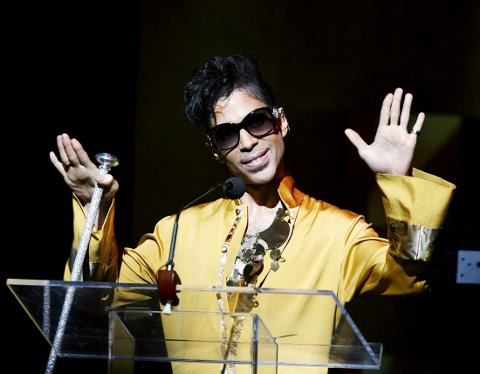 Artisten Prince på «Apollo Theatre's 75th anniversary gala» i New York i 2009.
