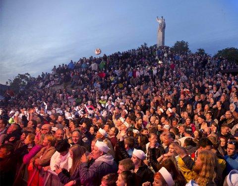 Kongefestival: Skjerjehamn er sentrum for den musikalske begivenhet i Gulen når den tiende utgaven av Utkant starter i kveld. Her er fra fjorårets festival.