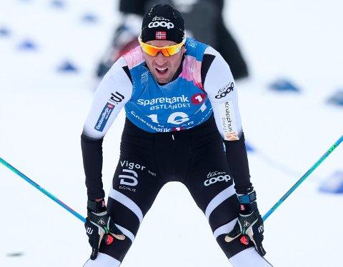 Chris Andre Jespersen langet ut mot landslagsledelsen etter en 9.-plass på 15 kilometer fri i NM på fredag. Men det var ikke på hans egne vegne at han var forbannet. (Foto: Lise Åserud / NTB scanpix)