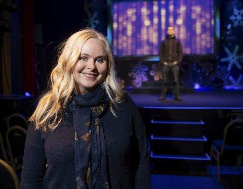 Siw Anita Andersen er en del av den «nye» gjengen som spiller i «Julegøy 2». Nå er gjengen med Kevin Vågenes i spissen spent på å vise frem showet. Foto: Rune Johansen