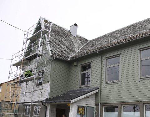 OPPUSSING: Heimen i Bremanger har fått eit ansiktsløft. Alle foto: Annbjørg Hauge Nygård