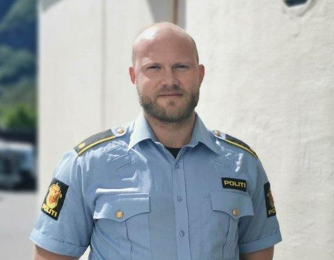 AVGJORT: I mai vart det meldt om to innbrot i Bjordal i Høyanger kommune. – No er saka avgjort, seier teamleiar Kristoffer Jorddal Lønning ved Høyanger politistasjon.