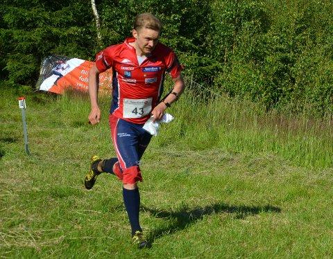 Fredrikstads Gaute Hallan Steiwer tok VM-gull i stafett ifjor - og har fått plass på Norges lag også i år.