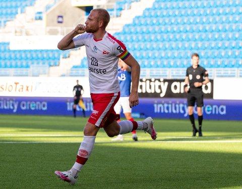 Med åtte scoringer er Henrik Kjelsrud Johansen toppscorer i 2. divisjon avdeling 1. En scoring i snitt per match betyr også at FFK-spissen opprettholder sin solide statistikk.
