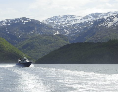 Omstridt: I bakgrunnen av dette bilder vises deler av det området som er gjenstand for den omstride grensedragninbgen mellom nye Narvik og nye Hamarøy kommuner. Nå må Sametinget svare om habilitet i tilknytning til det involvering i prosessen. Foto: Fritz HAnsen