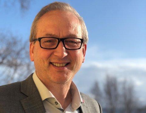 ORDFØRER: Terje Bartholsen er ordfører i en kommune som håper forsvarssatsingen også skal bety økt innbyggertall.