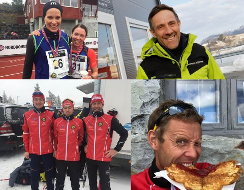 Fjorårsvinner Eli Garvik Rasdal og Elise Hay Opsahl, Asgaut Ravndal, Andre Ravndal, Tor Jøran Ravndal og Tor Joar Ravndal og Asbjørn Hjørnevik er blant deltakerne i årets Gjesdal trailrun.