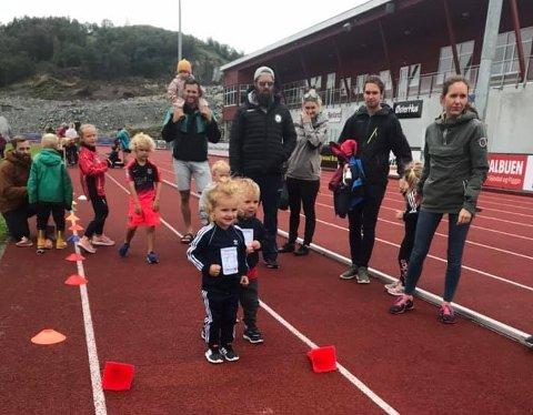 120 barn i alderen 0-12 år deltok på lørdagens aktivitetsdag i Gjesdal idrettspark.