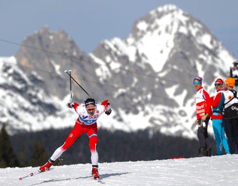 Hans Christer Holund gikk inn til et suverent VM-gull på femmila i Seefeld.