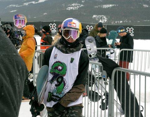 Marcus Kleveland endte på en sjuendeplass i den avsluttende slopestyle-øvelsen. Dombåsingen fant stor glede i å være tilbake på snowboard i konkurranse.