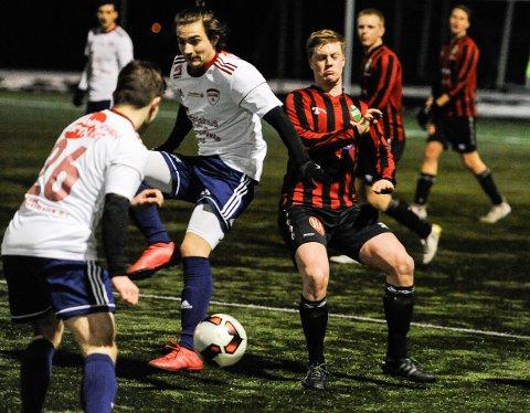 STORTAP: Håkon Bukholm og TTIF tapte 0-5 for FFK 2 på Fredrikstad stadion mandag kveld.