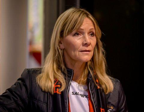 SNART NY SPILLER: HTHs daglige leder Marita Rognøy sier til HA at klubben er muntlig enig med en ny bakspiller.