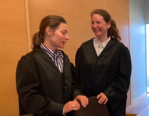 Fikk medhold: 44-åringen fra Stavanger nektet straffskyld for ran, men retten ga aktor, politiadvokat Siri Anne Flindall, medhold i skyldspørsmålet og bistandsadvokat Benedicte Storhaug medhold i oppreisningskravet.