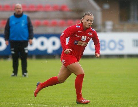 I FORM: Olaug Tvedten scoret to da Avaldsnes sikret seg cupavansement onsdag. Nå venter Vålerenga i kvartfinalen.