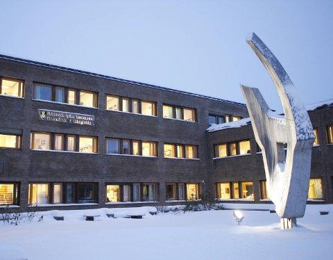 VIKTIG: Administrasjonen i Finnmark fylkeskommune er en viktig arbeidsplass i Vadsø.
