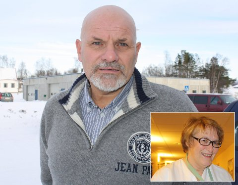 NY LEDER: Kirsti Olafson Pedersen er ny helse- og omsorgsleder i Loppa. Kommuneoverlege Olav Gunnar Ballo er godt fornøyd og gjenåpner sykestua.