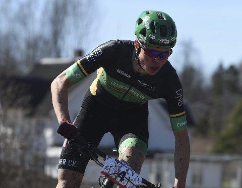 EM-KLAR: Erik Hægstad er tatt ut til U 23-EM i terrengsykling.