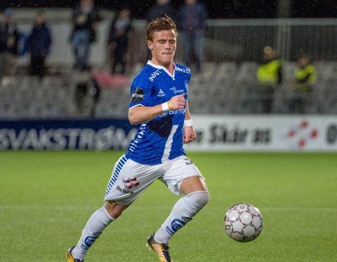 U21-LANDSLAGET: Tobias Heintz er tatt ut i troppen på U-21 landslaget.