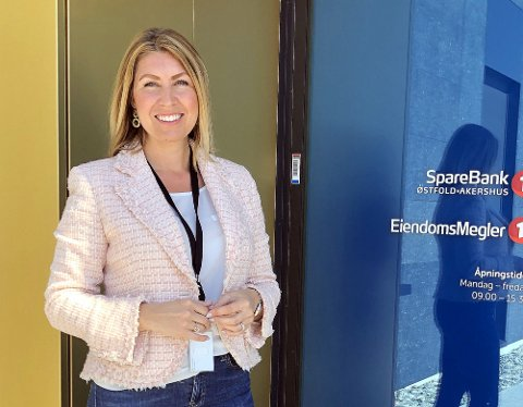 HAR PENGER Å DELE UT: Banksjef Ida Andberg oppfordrer lag og foreninger om å søke om pengestøtte..