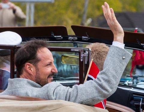Kronprins Haakon. Her avbildet på 17. mai.