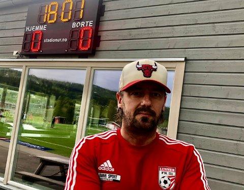 FRØYSTAD: Rune Larsen er aktiv på fotballfronten både på hjemme og bortebane.