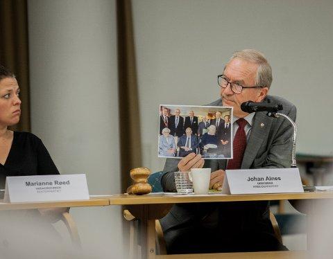 SJEF: Johan Alnes vil ikke motta den nye ordførerlønnen i Ås kommune. Han trer av etter høstens valg.