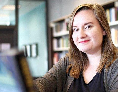 SNART PÅ PLASS: I mai blir Melissa Solvang ny biblioteksjef i Åsnes.