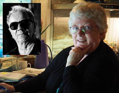 EKSKLUSIV KUNDE: May B. Odden solgte gitarstrenger til Åge Aleksandersen i 1980.