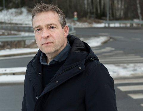FÅR BEKREFTELSE: Veivesenet bekrefter det ordfører Morten Lafton (Ap) har hørt: Det blir neppe sammenhengende utbygging av Olum-Eggemoen og Nymoen-Eggemoen.