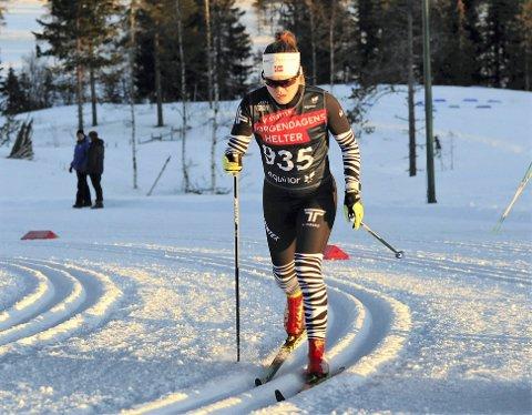 MÅ VENTE: Vera Flatland må på nytt utsette sesongdebuten ettersom Norges Skiforbund i tolvte time avlyste juniorenes regioncup.
