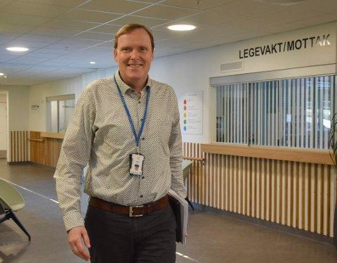 Gir seg: Espen Storeheier har fått ny jobb og flytter til Sverige.