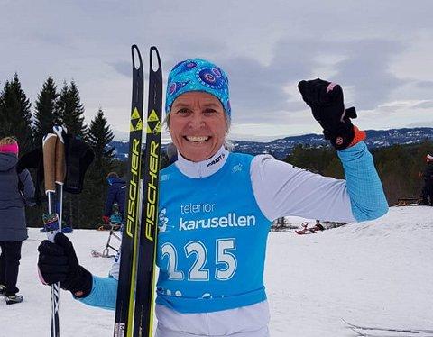 I sju år var Mari Ann Landsem Melhus Simens lærer ved Binde skole. Hun har selv alltid vært en aktiv skiløper.