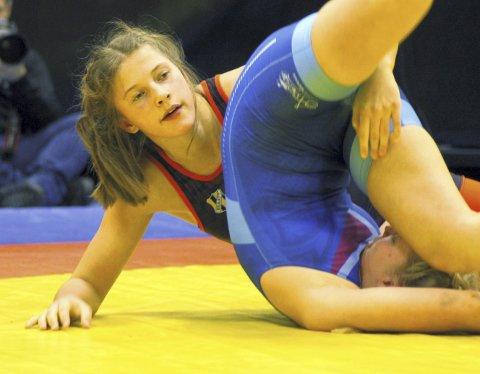 Gulljente: Ronja Kjelland-Olsen vant gull i NM.