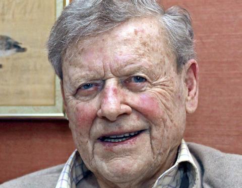 DØDE LØRDAG: Skipsreder Arne Alexander Wilhelmsen.