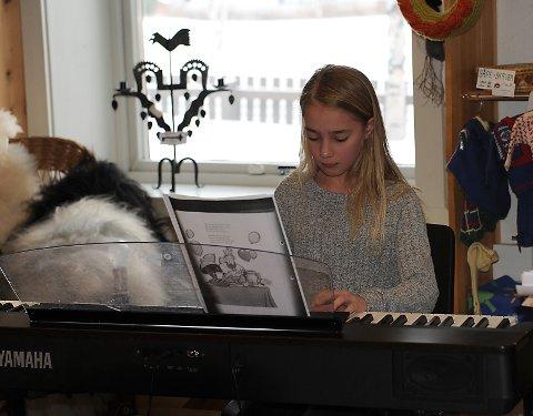 Bifrost: Synne Mikkelsen spiller tema fra Flåklypa.