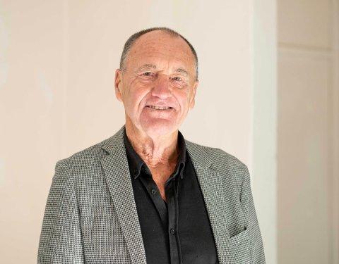 Odd Vangen, leder for Ås kunstforening.