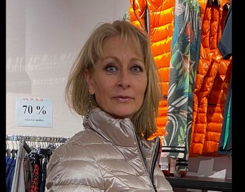Hanna Holmsen er alvorlig bekymret for hvordan hun skal få butikken til å overleve.