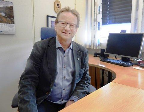 Ordfører i Sørfold kommune, Gisle Hansen. Foto: Arkiv