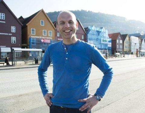 Fra 9. til 12. juni blir Bergen fylt til randen av mennesker fra andre byer i Hansanettverket. Haakon Vatle er prosjektleder for Hansadagene, og han gleder seg veldig til en ny folkefest.
