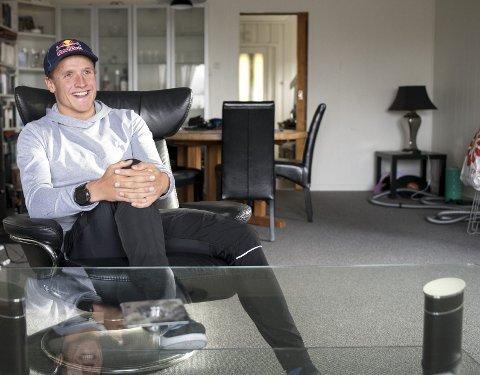 Kristian Blummenfelt er hjemme i Bergen på en sjelden ferie. Men allerede neste uke reiser han til Sierra Nevada for en ny treningssamling.