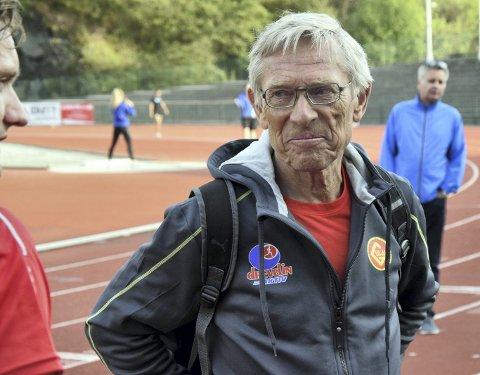 Arne Risa gleder seg over at den andre versjonen av stevne oppkalt etter ham, Arne Risa Classic, ble en positiv opplevelse med et sterkt startfelt på Fana Stadion.