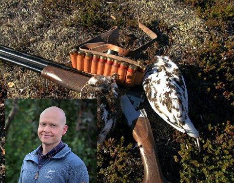 Einar J. Asbjørnsen, leder for utmark i FEFO, kan fortelle hvordan årets rypejakt blir.